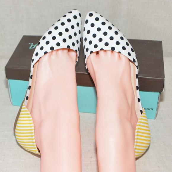 027c0668a628 N.Y.L.A. Shoes | Modcloth Gambol Opportunity Vegan Flat Print Mix ...